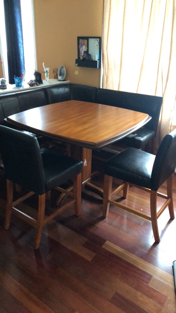 Picture of: Used Breakfast Nook Table Set For Sale In Media Letgo