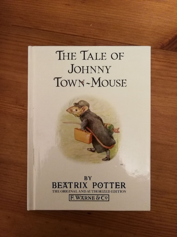 The Tale of Johnny Town-Mouse by Beatrix Potter book