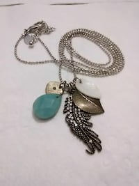 silver colored necklace with pendant Cleveland, 44111