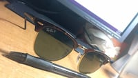 black framed Ray-Ban sunglasses Brampton, L6Z 4K1