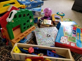 Lots of toys for kids