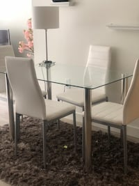 Dining table set (chairs included)