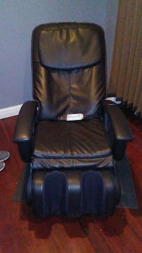 black leather padded foot and calf massager Edinburg, 78542