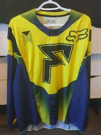 yellow and blue Fox long-sleeved shirt Fort McMurray, T9H 1Y1