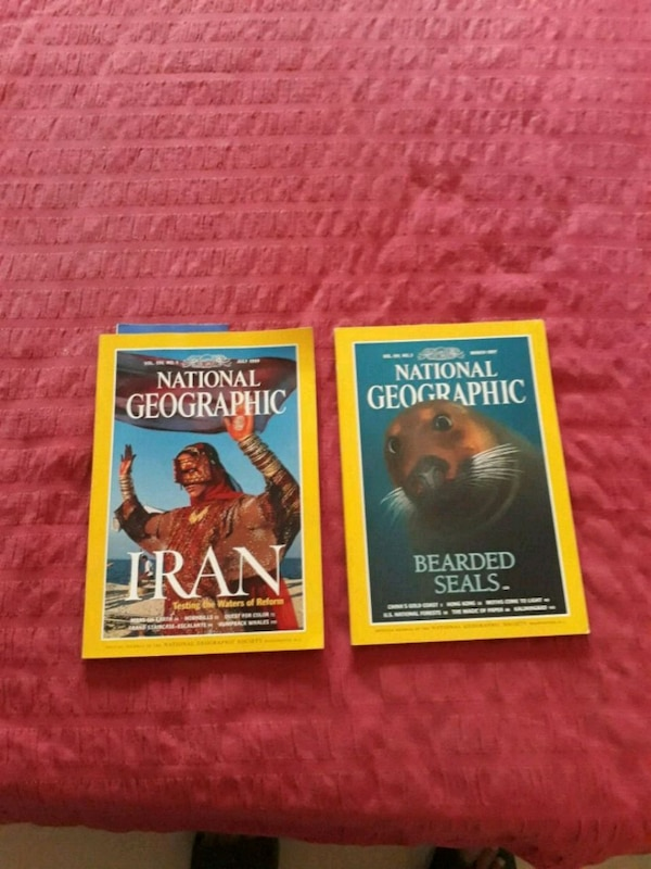 Sold National Geographic Magazines