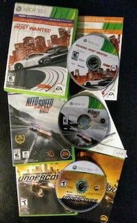 3 RACING GAMES FOR $20! Microsoft XBOX 360 Need for Speed