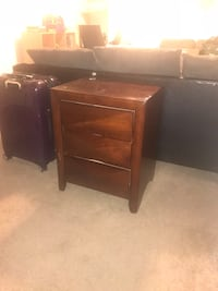 brown wooden single pedestal desk Washington, 20003