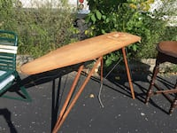 wooden clothes ironing board.. Kenosha