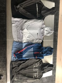 Nike and Under Armour hoodies boys large Thousand Oaks, 91362