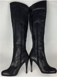 ALDO Fiona Leather Over the Knee Heeled Boots: Size 6  Toronto, M1S 2Z1