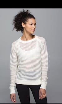 As new ~ lululemon devi sweater ~ size 10 Surrey, V4N 6A2
