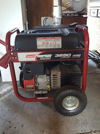 red 3250 Coleman portable generator Glenville, 12302