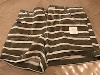 Old Navy - Green and white striped shorts  Caledon, L7C