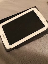 white Samsung Galaxy Tab with black case Grande Prairie, T8V 8L6