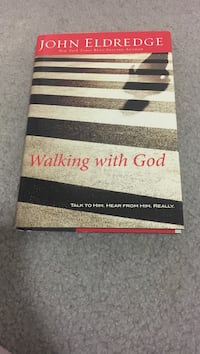 Walking with god by john eldredge Silver Spring, 20906