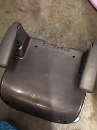 Grey booster seat.   Silver Spring, 20904
