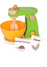 Hape Might Mixer Wooden Play Kitchen