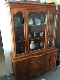 Fruit wood china cabinet excellent condition over 60 yrs old Ottawa, K2H 9A9