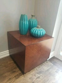 Set of 2 solid wood end tables Oshawa