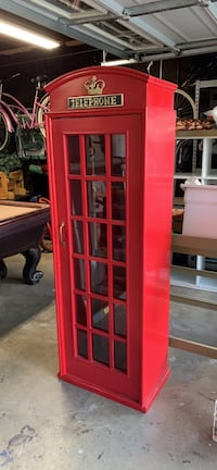 London phone booth pool cue holder 2252 mi