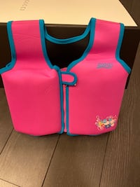 2-4 years Swimming life jacket Mississauga, L5B 4M6
