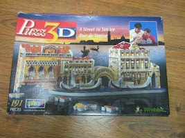 """3D PUZZLE - """"A STREET IN VENICE"""" BY WREBBIT"""