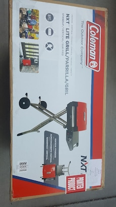 New in a box Coleman NXT Lite Grill