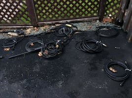 Pressure washer hoses all