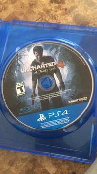 Sony PS4 Uncharted 4 A Thief's End disc South Bend, 46613