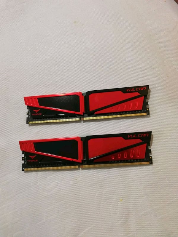 8 gb (4+4) ram 3000 mhz, ddr4, Team group Vulcan b1bb1c72-02a6-414e-bfce-c71d80916fe6