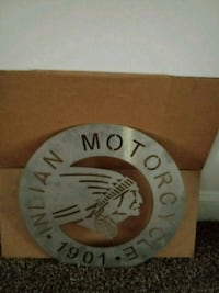 Indian motorcycles custom metal sign Nashville, 37218