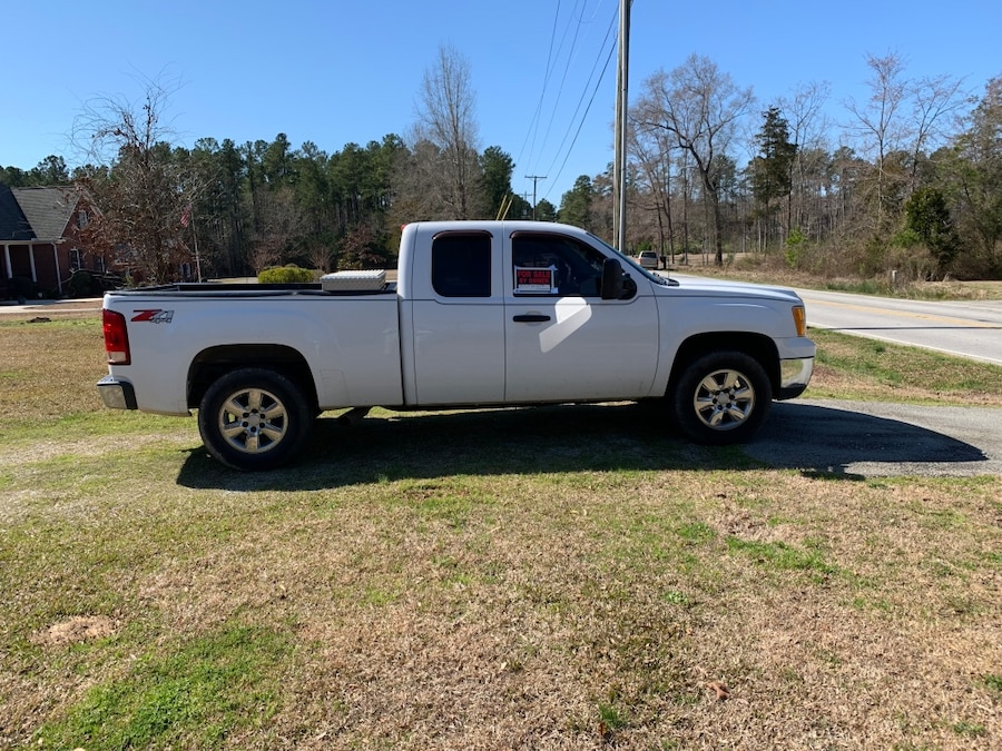 Photo 2008 GMC Sierra 1500 4WD Extended Cab Work Truck MWB
