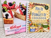 Cook Books: Fix-it & Forget-it & Kellogg's Sterling, 20166