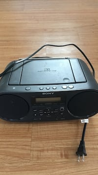Sony portable radio/cd/Bluetooth ZS-RS60BT in great shape Sunnyvale, 94086