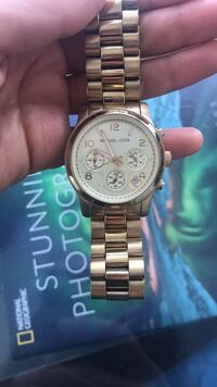 Genuine gold women's Michael Kors Watch for small wrist 535 km