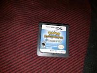 Nintendo DS Pokemon game cartridge Waterloo, N2J 2A2