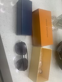 LV Louis Vuitton sunglasses with serial number black North Vancouver, V7J 3M2