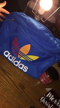 Blue and red adidas backpack Whitby, L1N