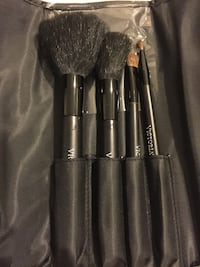 VS make up bag with brushes and case