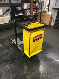 Rubbermaid cleaning cart . Barely used.  Hagerstown