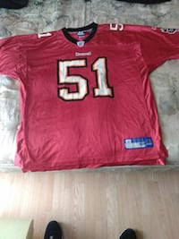 Buccaneers Jersey Size 2XL Findlay, 45840