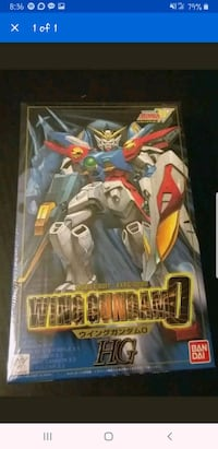 Mobile Suit Gundam Wing 1/100 Model Kit Baltimore, 21209