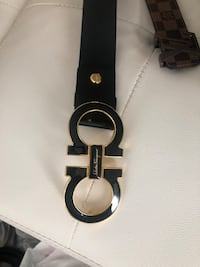 Black authentic ferragamo belt Arlington, 22204