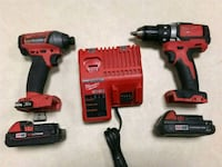 Milwaukee m 18 hammer drill & impact gun London, N5V 3T5