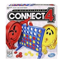 Hasbro Connect 4 Game (connect 4)     Oceanside, 92056