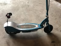 blue and black Razor kick scooter BURLINGTON