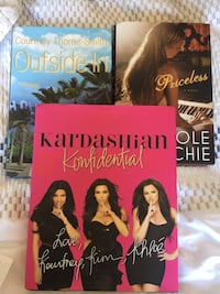 Khardashians,Richie & Smith books. All 3 for $20 bucks. The Courtney Thorne Smith book is signed. Los Angeles, 90069