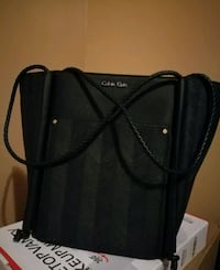 black Leather bag Brooklyn, 11236