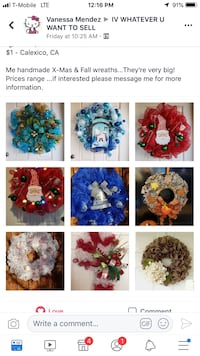 assorted-color floral decor lot collage Calexico, 92231