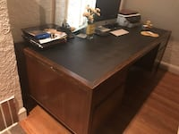 Wood desk 3856 km